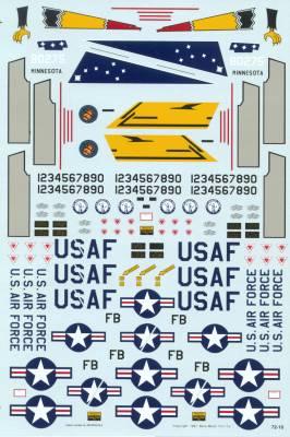 72-10 DECAL F-101B VOO DOO'S