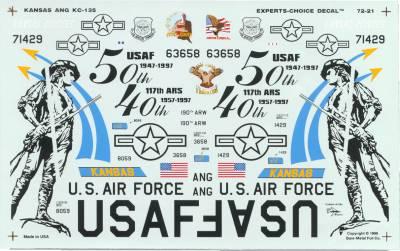72-21 KC-135 TANKERS TOPEKA KS
